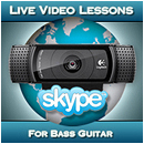 Live Video Lessons For Bass Guitar